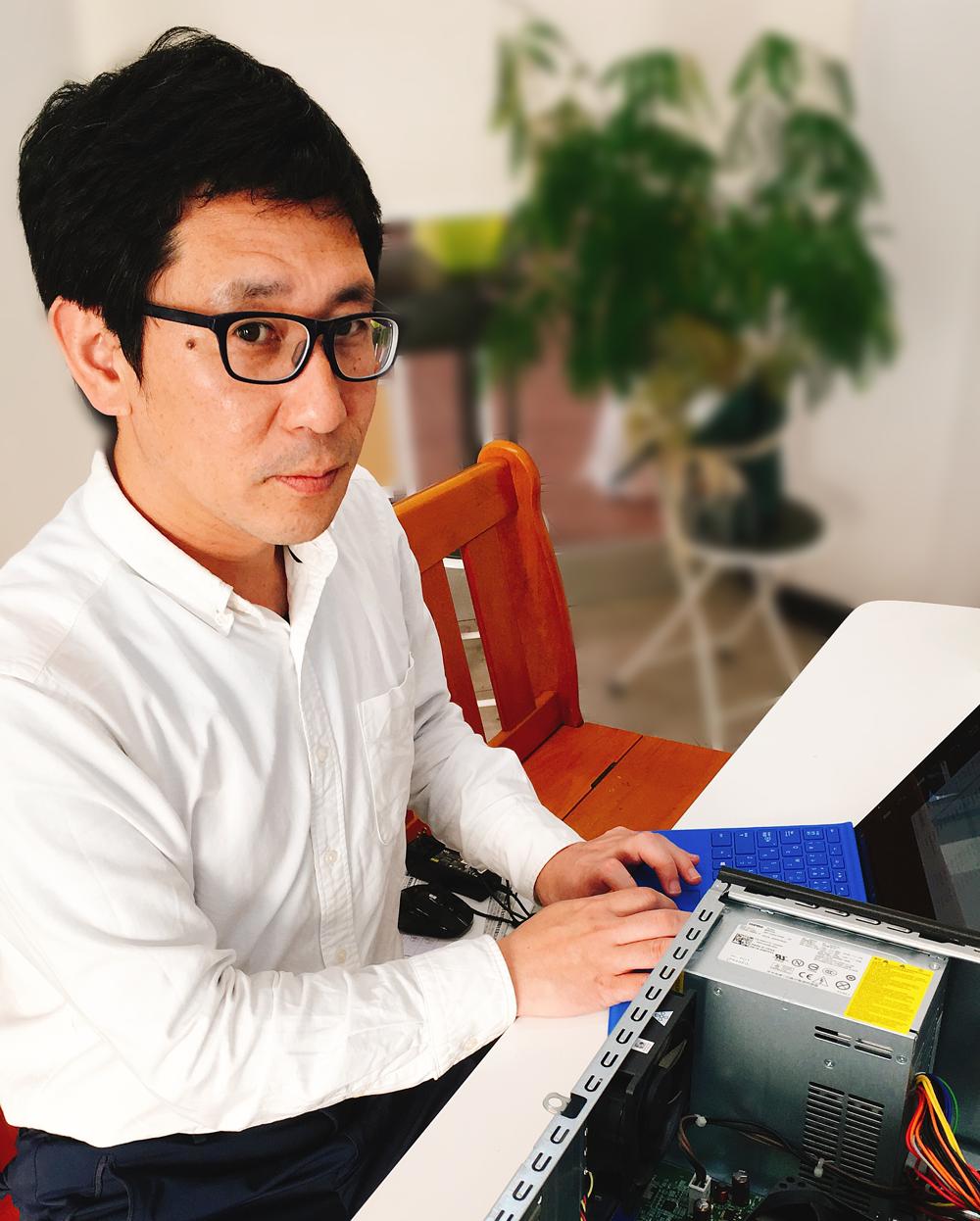 みんなのパソコン教室代表 松井伸二